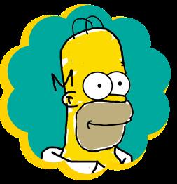 Homer-Simpson-Mohssgame-matt-groening-blog-article-post-comics
